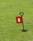 Eighth hole Stock Image