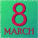 Eighth of March background.Vector illustration eps 10.  stock illustration