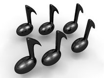 Eighth Notes Stock Images