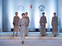 The eighth series of ancient-Fashion Show Stock Photo