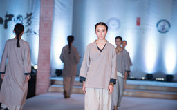 The eighth series of ancient-Fashion Show Stock Photography