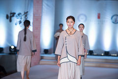 The eighth series of ancient-Fashion Show Stock Image