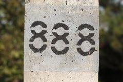 Eighthundred восемьдесят восемь Стоковые Изображения