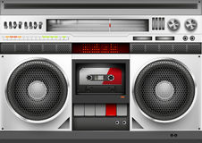 Eighties Boom box Vector Stock Photo