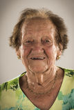 Eighty eight years old senior woman Stock Image