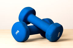 Eignung Dumbbells Lizenzfreie Stockbilder