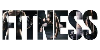 Eignung, gesunder Lebensstil und Sportkonzept stockbild