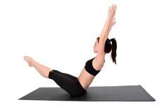 Eignung - Pilates Stockfoto