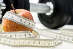 Eignung und Diät Lizenzfreies Stockfoto