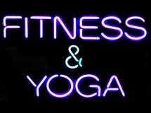 Eignung und Yoga Stockfotos