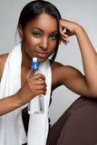 Eignung-Wasser-Frau stockbilder
