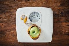 Eignungs-und Gewichts-Verlust-Konzept Stockbild