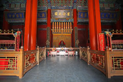 Eijing-Konfuzianer-Tempel Stockfotos