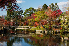 Eikan-do temple with autumn garden, Kyoto Stock Photo