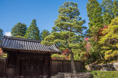 Eikando寺庙在秋天 库存图片