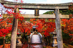 Eikando with autumn colors, Kyoto Royalty Free Stock Photography