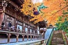 Eikando, Kyoto Stock Afbeelding