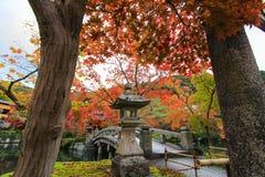 Eikando-Tempel (Zenrin-ji) im Herbst Stockfotografie