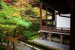 Eikando temple in autumn Royalty Free Stock Photography