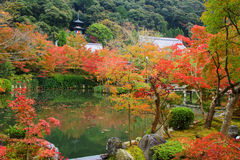 Eikando temple with Fall color, Kyoto Royalty Free Stock Images