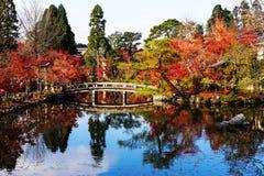 Eikando Temple with Fall colors, Kyoto Stock Photos