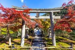 Eikando temple Kyoto Stock Photography