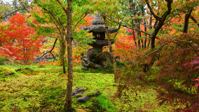 Eikando temple, shrine in autumn garden, Kyoto Royalty Free Stock Photos