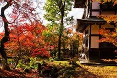 Eikando temple wtih autumn foliage, Kyoto Stock Images