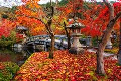Eikando w jesieni, Kyoto Fotografia Stock