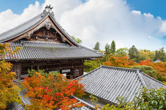 Eikando Zenrin-ji świątynia w Kyoto Zdjęcia Royalty Free