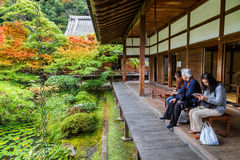 Eikando Zenrin-ji Temple in Kyoto Royalty Free Stock Photos