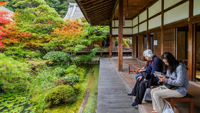 Eikando Zenrin-ji Temple in Kyoto, Japan Stock Image