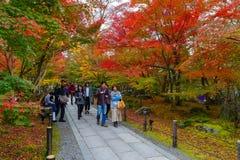 Eikando Zenrinji Temple in Kyoto, Japan Stock Image