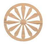 Eiken houtdecoratie royalty-vrije stock fotografie