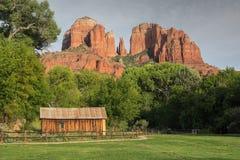 Eiken Kreekcanion, Sedona, Arizona Royalty-vrije Stock Fotografie