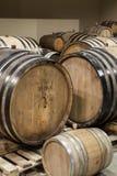 Eiken Wijnvatten Stock Foto's