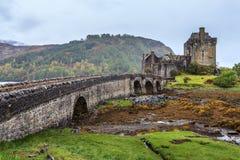 Eilan Donan城堡在苏格兰 免版税库存图片