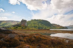 Eilan Donan Castle Royalty Free Stock Photo