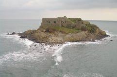 Eiland in Bretagne Royalty-vrije Stock Afbeeldingen