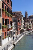 Eiland Burano - Venetië - Italië Stock Fotografie