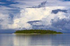 Eiland in de Indische Oceaan Royalty-vrije Stock Foto's