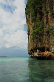 Eiland in de Indische Oceaan dichtbij phi-Phi Royalty-vrije Stock Foto's
