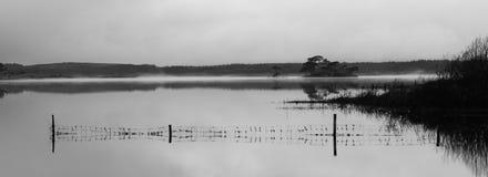 Eiland in de mist (3) royalty-vrije stock afbeelding