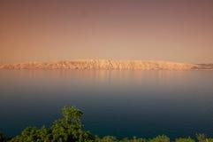Eiland in het Adriatische Overzees Stock Afbeelding