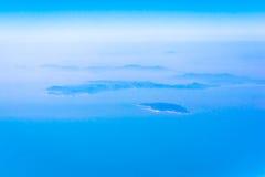 Eiland in het overzees Royalty-vrije Stock Foto
