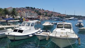 Eiland Hvar Kroatië Stock Foto's