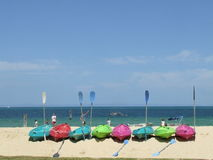 Eiland Kayaking Royalty-vrije Stock Afbeelding