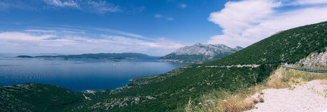 Eiland Korcula, Kroatië Stock Foto