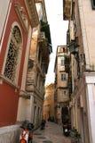Eiland Korfu, stad van Korfu, Ionische overzees, Griekenland Royalty-vrije Stock Fotografie