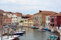Eiland Murano in de lagune van Venetië - Italië royalty-vrije stock foto